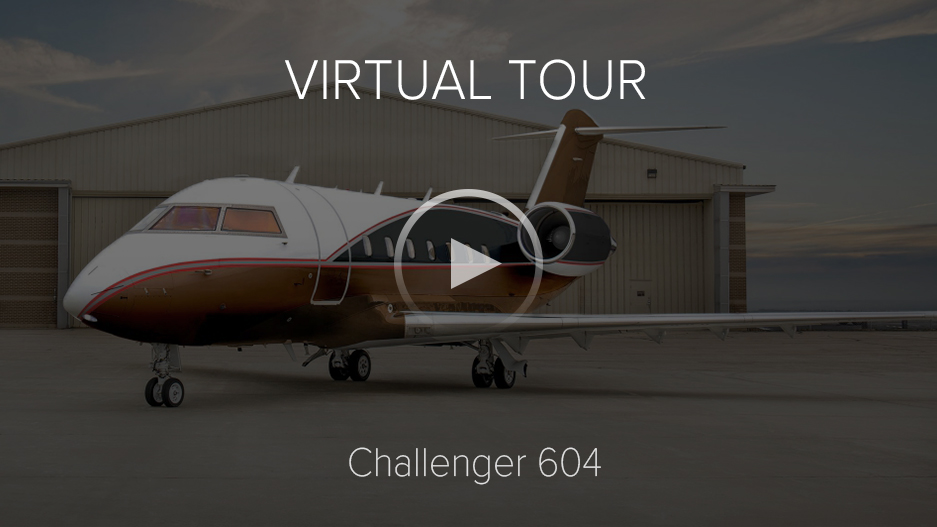 Virtual Reality Tour - Challenger 604