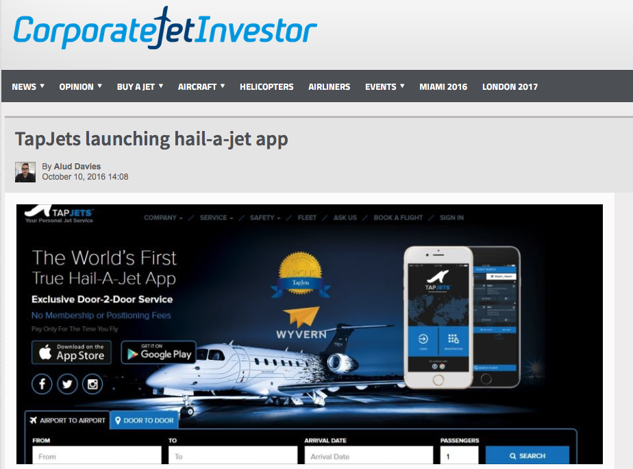 Corporate Jet Investor