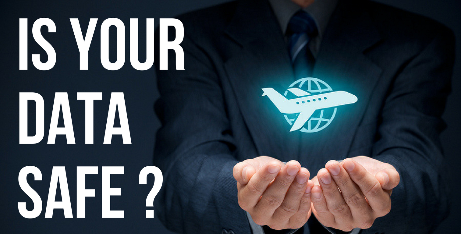 Is your private information protected by air charter company and how?